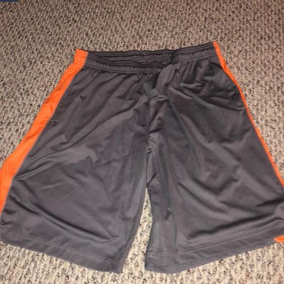 adidas shorts orange